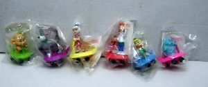 Set of 6 Meet The Jetson's Wendy's Kids Meal Toy Judy George Astro Elroy More