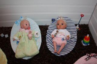 OOAK Baby Doll Chair Crib Bouncy Chair