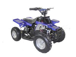 Kids Ride on Toy Mini Quad ATV 4 Wheeler Battery Powered Operated Electric Blue