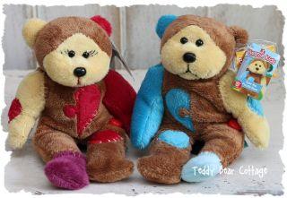 69d7f172552 New Skansen Beanie Kids Jig Saw The Puzzle Bear Set on PopScreen