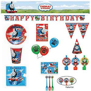 Thomas Tank Engine Friends Birthday All in One Party Supply