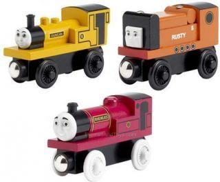 Duncan Rusty Rheneas 3 Thomas Train Narrow Gauge New