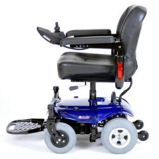 Cobalt x23 Blue Power Chair Electric Wheelchair Rear Wheel Drive Scooter 21AH