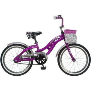 Kids Girls Purple 18 inch Hello Kitty Ride on Toy Cruiser Bike Bicycle Sale