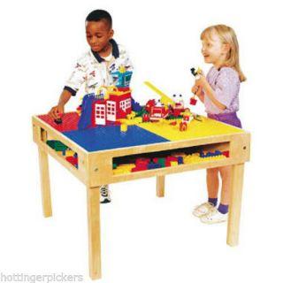 Kids Lego Leggos Duplo Building Block Table Office Daycare Nursery Playroom