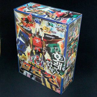 Power Rangers Gokaiger DX Gokaioh Gokai Oh Megazord Kaizoku Super Sentai Bandai
