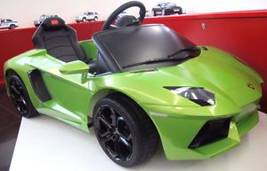 Licensed Lamborghini Ride on Toy Battery Operated Car for Baby Kids Remote Contr