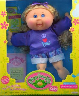 Cabbage Patch Kids Doll Liv Sasha Blonde Hair Freckles Blue Eyes November 2