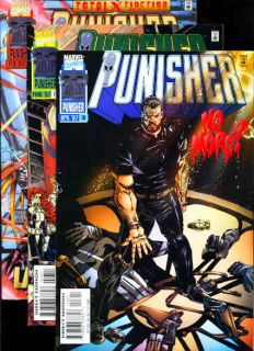 Punisher 1 18 Minus 11 Special 1995 Marvel Edge Comics Spider Man Daredevil