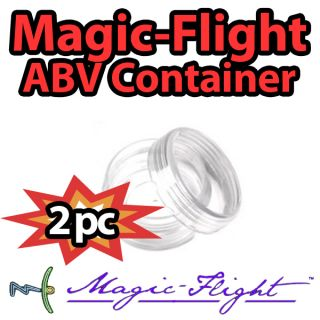 Magic Flight Launch Box Vaporizer Original Stash Acrylic Case abv Container New