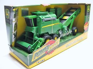 Ertl John Deere Grab Go Combine w Power Elevator Plastic Kids Children Toy New