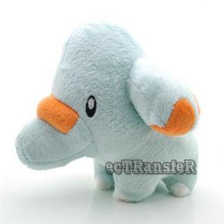 "New 7 5"" Phanpy Pokemon Cute RARE Soft Plush Toy Doll PC1870"
