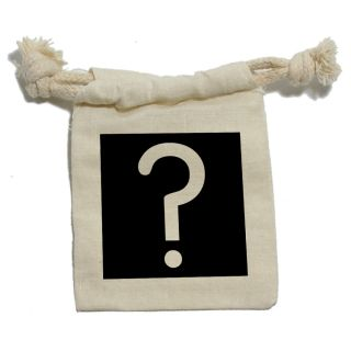 Mystery Prize Question Mark Muslin Cotton Gift Party Favor Bags