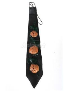 Hot Scary Skull Necktie Tie Fancy Halloween Party Prop Dress Costume Random One