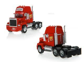 Mattel Disney Cars Movie Lightning McQueen Mack Truck Diecast Car Toy Loose Hot