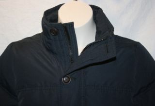 Abercrombie Kids Boys Jacket Tupper Lake Down Navy Blue Size Small New