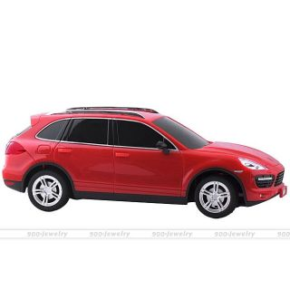 1 24 Scale Porsche Cayenne Mini RC Remote Control Electric Racing Car Toy Red