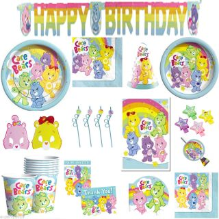 Care Bears Birthday Party Supplies Pick 1 Or Many To Create Your Set