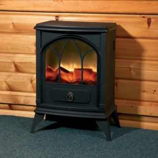 Electric Wood Stove Heater