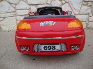 Kids Sports Car Power Wheels Ride on Toy 6V Porsche Red