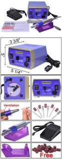 Nails Care Manicure Electronic Nail File Machine Kit SE