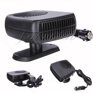 12V Vehicle Car Portable Ceramic Heating Cooling Heater Fan Defroster Demister