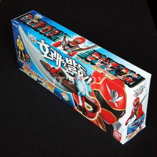 Power Rangers Kaizoku Sentai Gokaiger Gokai Saber Sabre Sword with Key Bandai