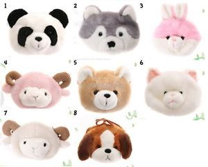 Child Animal Purses Animal Design Baby Kids Plush Toys Soft Girls Animal Fur Bag