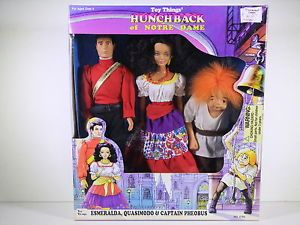 Barbie Size Doll Toy Things' Hunchback of Notre Dame Esmeralda Quasimodo