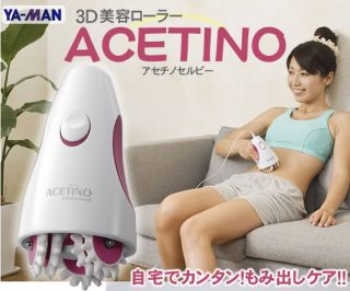 Ya Man Yaman Beauty Roller Acetino Selby 3D Japan Body Face Massage Equipment
