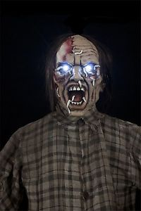 Life Size Walking Dead Hanging Zombie Maggot Farmer Horror Prop Halloween Decor