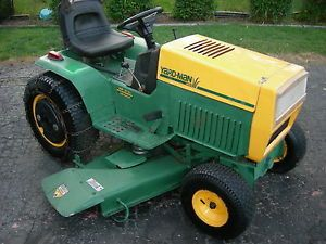 RARE Yardman Heavy Duty Farm Garden Tractor with Attachments