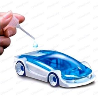 DIY Eco Friendly Kits Salt Water Fuel Cell Car Green Energy Assembled Toys 4 Kid