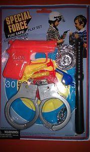 Special Force Fun Play Set Dart Gun Set Kids Toys Police Play Set
