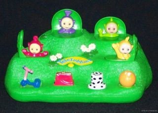 Teletubbies Pop Up Toy HTF RARE Magical Hill Tubbies
