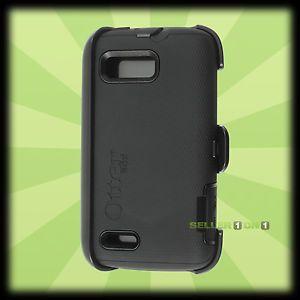 Otterbox Motorola Atrix 2 Defender Case Holster Black Shell Cover Belt Clip