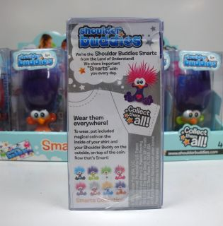 New Shoulder Buddies Educational Collectible Toy Crush