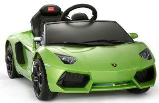 Licenced Lamborghini Aventador LP700 Baby Kids Ride on Power Wheels Toy Car G