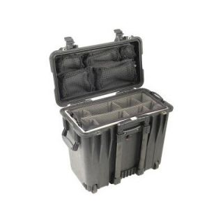 Pelican Case with Utility Padded Divider and Lid Organizer