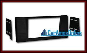 ★ E39 Double DIN Car Stereo Dash Mounting Install Kit Radio Installation Trim ★