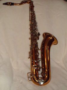 Vintage Selmer Bundy Tenor Saxophone with Mouthpiece and Two Instructional Book