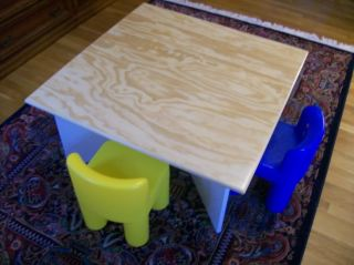 Plans to Build A Table for Use with Lego® Building Toys Blocks on CD ROM