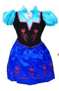 Disney Frozen Anna Toddler Dress 2T 4T