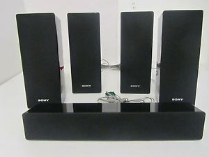 Sony SS CTB102 Home Theater Speaker System Speakers Only Used Good No Box