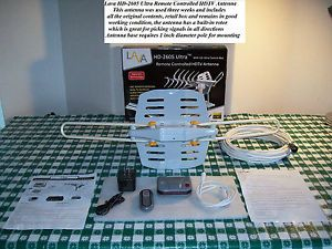 Lava HD 2605 Ultra Remote Controlled HDTV Antenna with Retail Box – Used