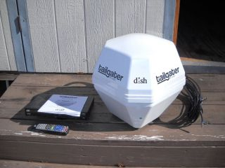 Dish Network Tailgater Portable Antenna HDTV System Bundle