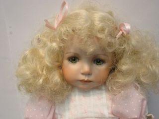 """20"""" Kayla Porcelain Doll Dianna Effner Expressions 1996"""