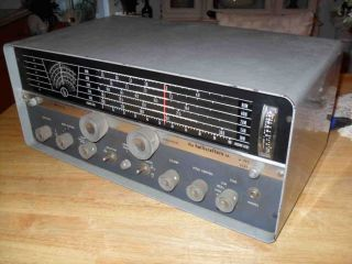 Hallicrafters SX 110 Ham Shortwave Radio Vacuum Tube Communications Receiver