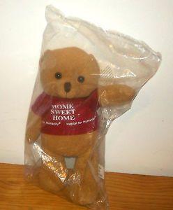 New Habitat for Humanity Sawyer Home Sweet Home Plush Stuffed Animal Teddy Bear