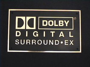 Dolby Digital Surround EX Home Cinema Wall Plaque